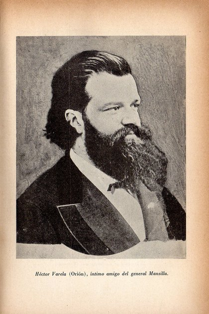 Orión, el amigo de Mansilla que publica las cartas que componen la primera edición
