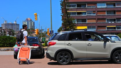 Lugar en los estacionamientos y mucho turismo interno (Marcelo Umpierrez)