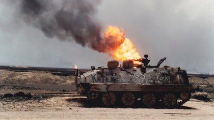 La guerra del Golfo entre 1990 y 1991 provocó otra de las grandes disrupciones en la provisión de petróleo de la historia (iStock)