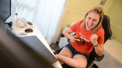 Carolina Vázquez, Carolo, es una de las nuevas youtubers con más éxito de Argentina. Foto: Fernando Calzada.