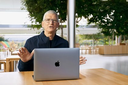 Tim Cook, CEO de Apple (Foto: AFP)