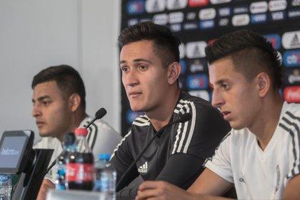 Raúl Gudiño se dijo feliz por la renovación de su contrato (Foto: Isaac Esquivel/ Cuartoscuro)
