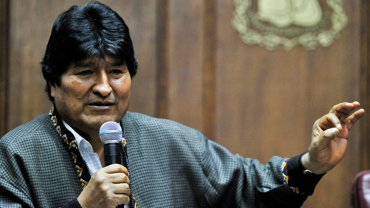 Evo Morales, presidente de Bolivia entre 2006 y 2019 (Photo by CLAUDIO CRUZ / AFP)