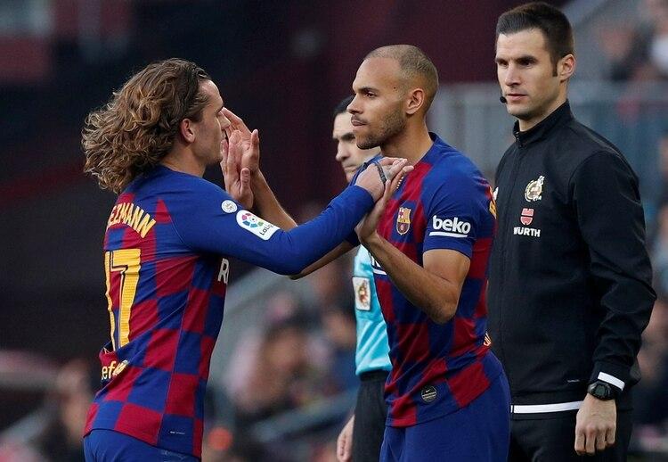 El Barcelona podría considerar vender a Griezmann y Braithwaite si la oferta es tentadora