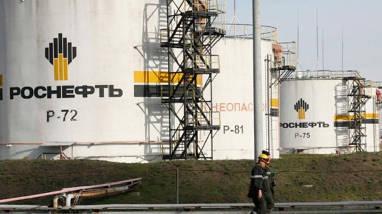 Instalaciones de Rosneft, la petrolera estatal rusa que opera en Venezuela
