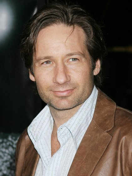 David Duchovny at the premiere for 'Friday Night Lights' on October 6, 2004 in Los Angeles, California. Photo credit: Francis Specker