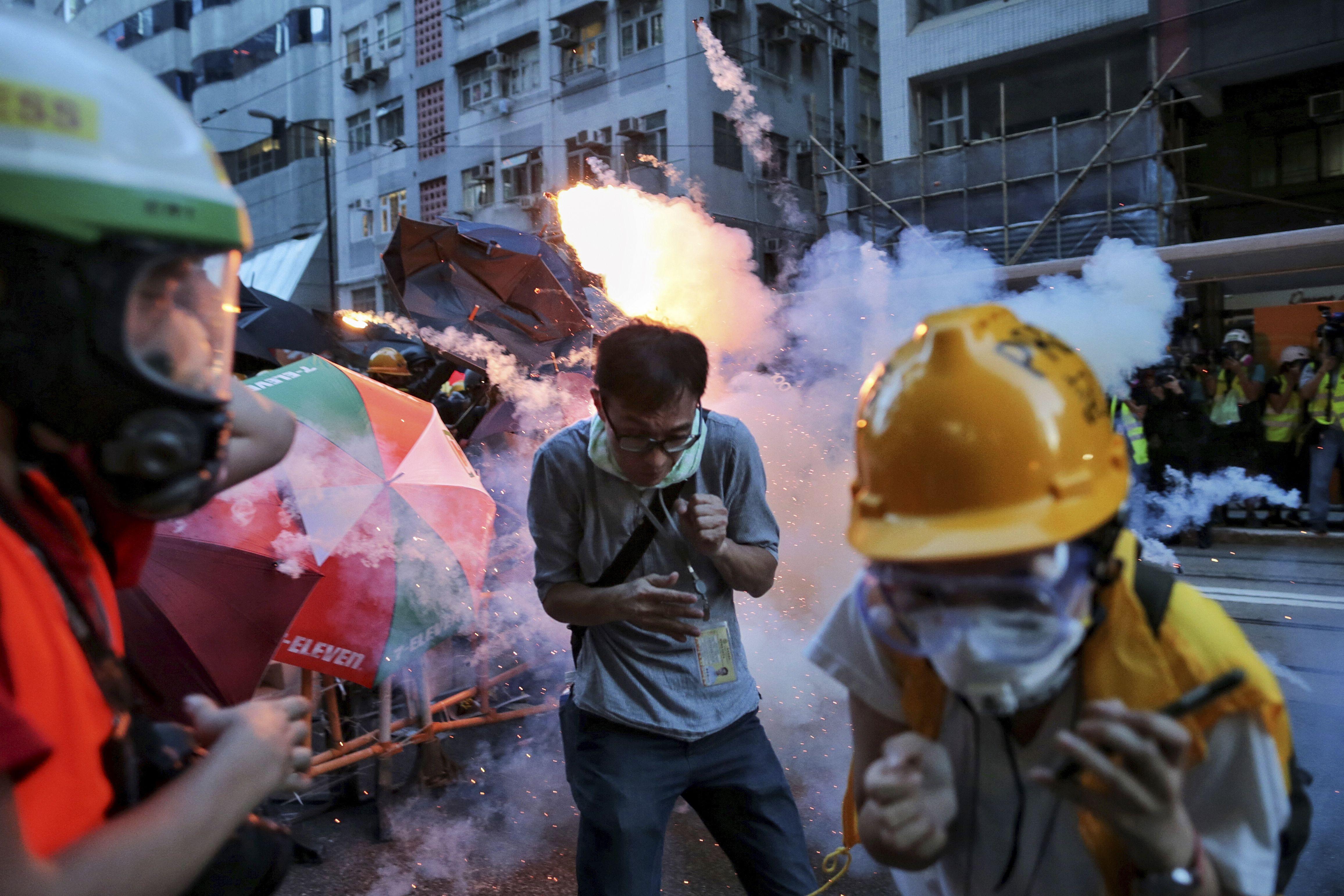 (Elson Li/HK01 via AP)