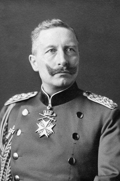 El káiser Guillermo II, emperador de Alemania