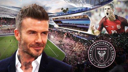 David Beckham es una de las principales caras del Inter Miami