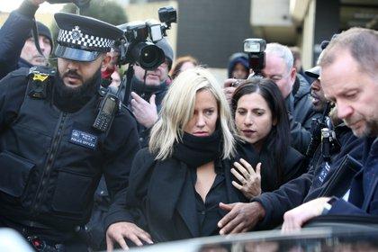 Caroline Flack fue citada ante un juez en diciembre de 2019 por una denuncia de su novio (Shutterstock)