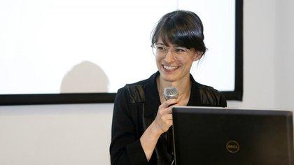 Melina Masnatta, especialista en educación en Fundación Huésped y Chicas en Tecnología (Nicolás Aboaf)