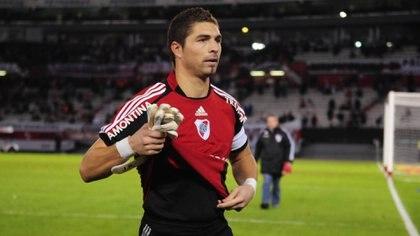 Juan Pablo Carrizo, el chico que deslumbró a todos en sus inicios en River y fue el arquero del equipo que descendió a la B Nacional (Fotobaires)