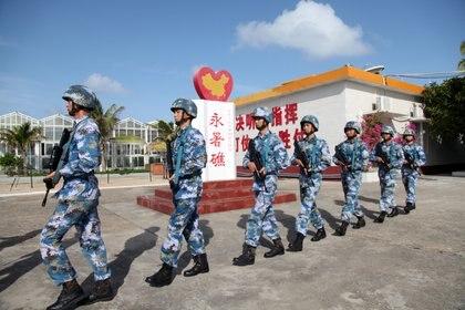 Estimaciones de Japón y EEUU apuntan que China tiene entre 25 mil y 35 mil marines (Reuters)