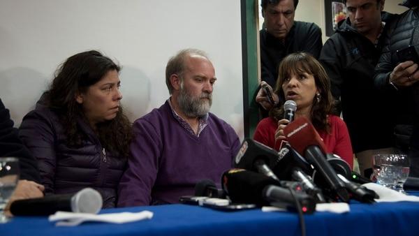 La familia de Santiago Maldonado pidió esperar los resultados de laautopsia