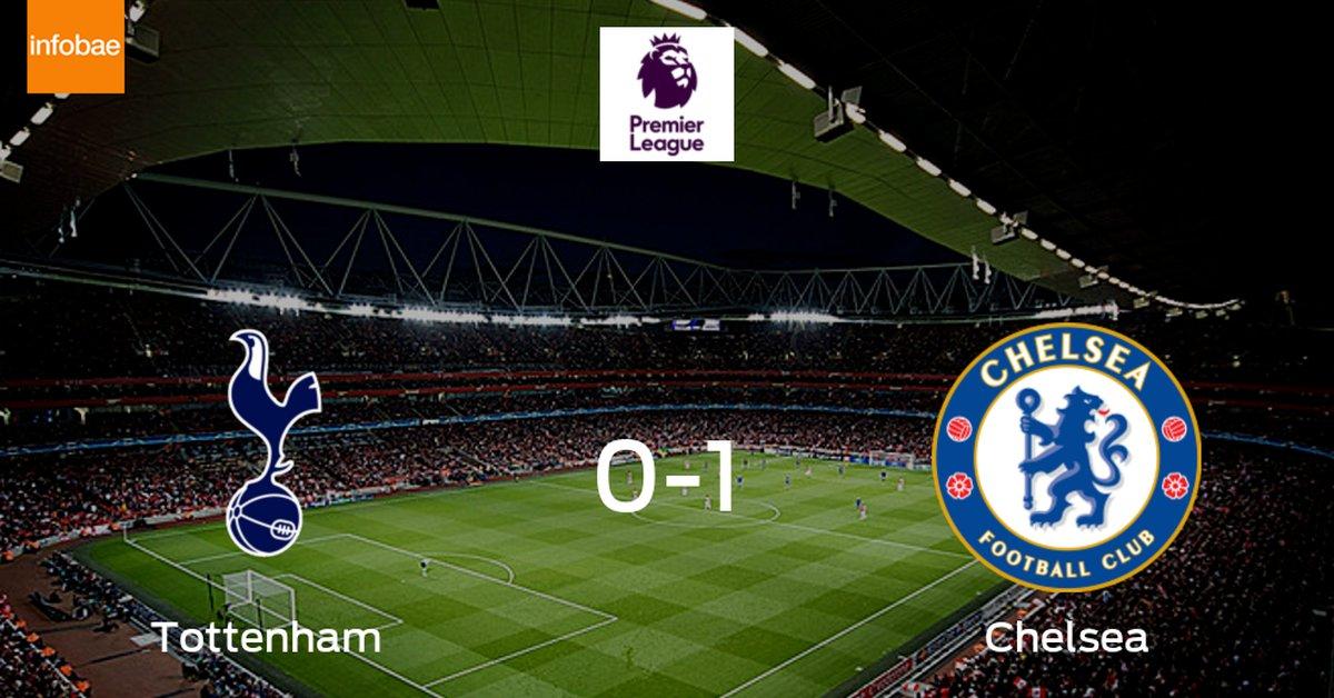 Chelsea se queda con los tres puntos tras derrotar 1-0 a Tottenham Hotspur  - Infobae