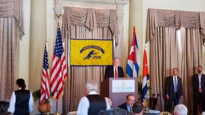 John Bolton en Miami (Opy Morales)