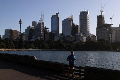 Aquellos que deseen participar de la maratón virtual solidaria, lo pueden hacer desde cualquier parte del mundo (REUTERS/Loren Elliott)