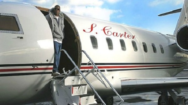 Beyoncé le regaló un jet privado a Jay-Z