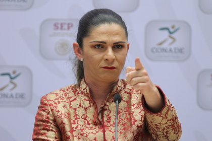 En el Senado también quieren una comparecencia de Ana Gabriela Guevara, titular de la Conade (Foto: EFE)