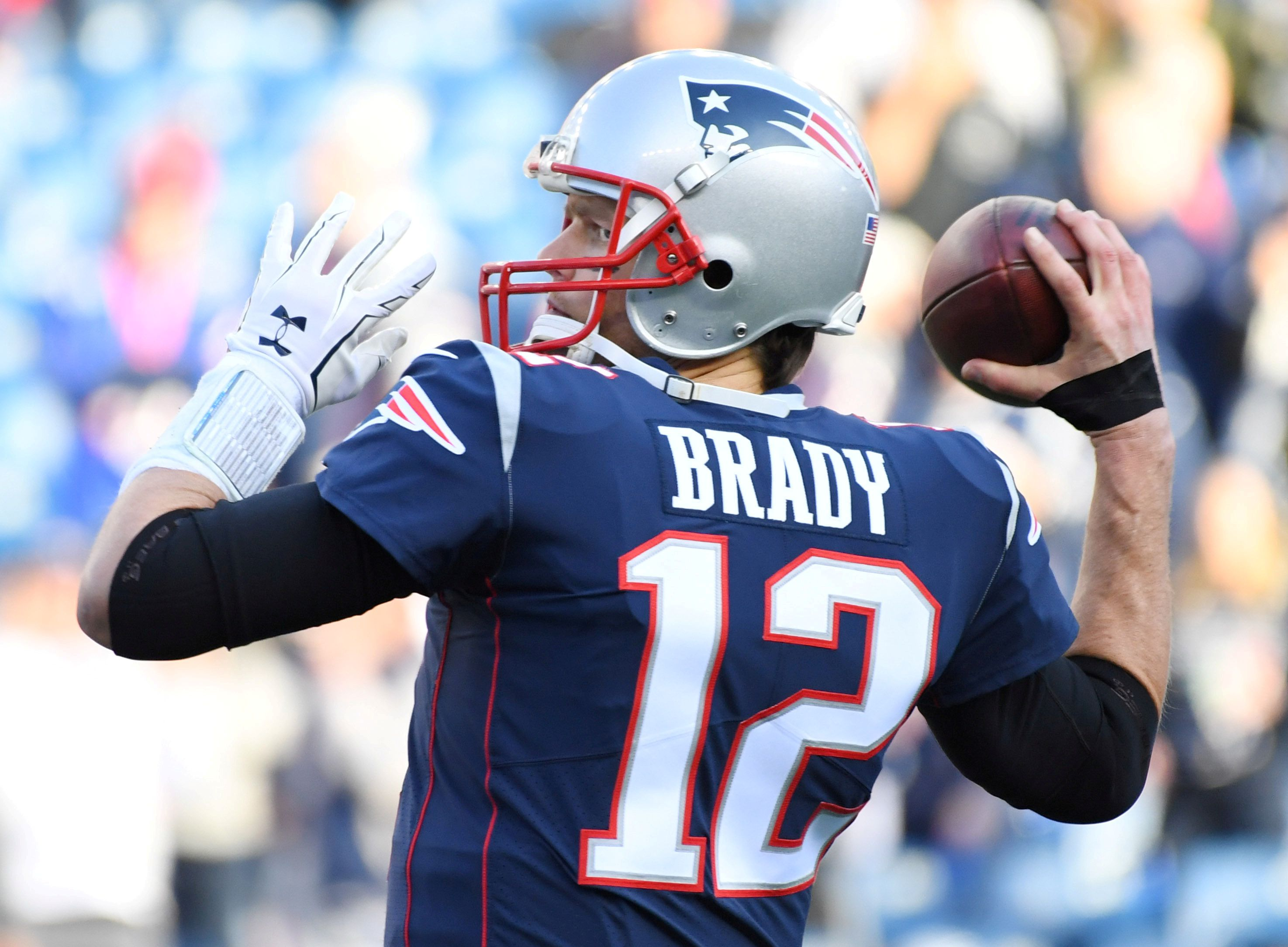 Tom Brady ya había hecho historia en New England Patriots (USA TODAY Sports)