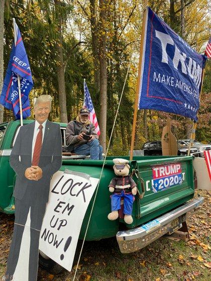 Toda la parafernalia de Paul para hacerle saber a Joe Biden su respaldo a Donald Trump / SEBASTIÁN FEST