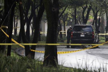 El pasado 26 de junio, fue atacado el jefe de la policía de la Ciudad de México, Omar García Harfuch (Foto: REUTERS/Luis Cortes)