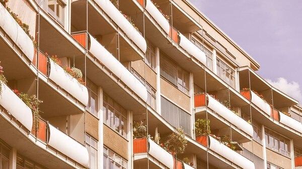 Un diseño de 1957 Walter Gropius en el barrio Hansaviertel de Berlín (Shutterstock)