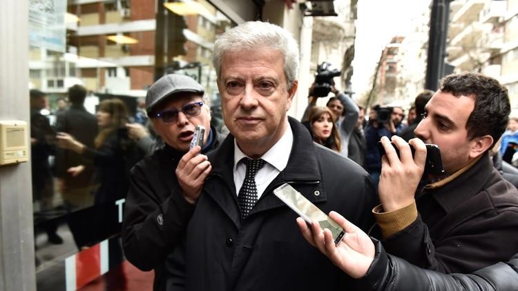 El abogado Carlos Beraldi (Adrián Escandar)