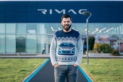 Mate Rimac, el joven emprendedor croata que irrumpió en el mundo automotriz.