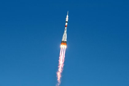 El despegue del Soyuz MS-17 (Andrey Shelepin/GCTC/Roscosmos via REUTERS)