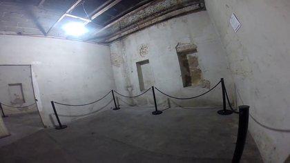 El interior del centro clandestino de detención