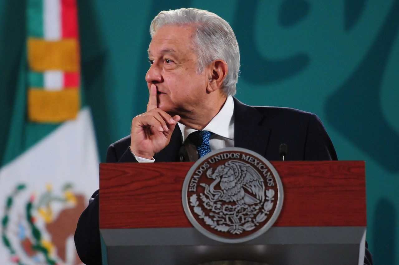 AMLO - ANDRES MANUEL LOPEZ OBRADOR - MEXICO - CONFERENCIA - PRESIDENCIA - 14042021