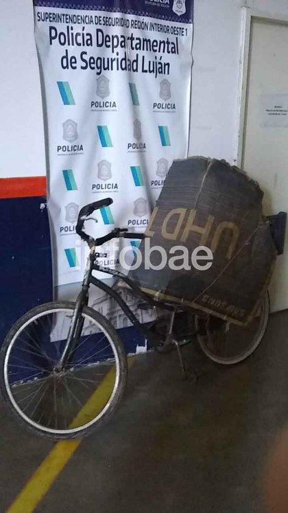 Secuestraron la bicicleta en la que se trasladaron ambos durante los últimos días