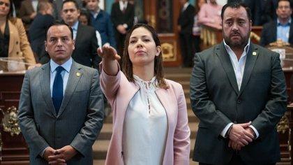 Sandra Vaca, era secretaria particular de Gutiérrez de la Torre (Foto: especial)
