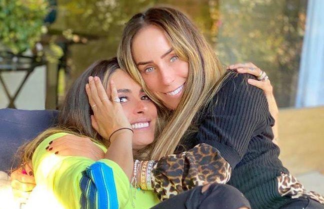 Galilea Montijo e Inés Gómez Mont son amigas y comadres (IG: inesgomezmont)