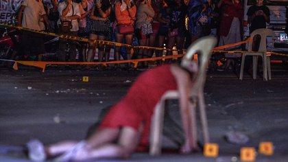 Kristita Padual fue ejecutada en plena calle