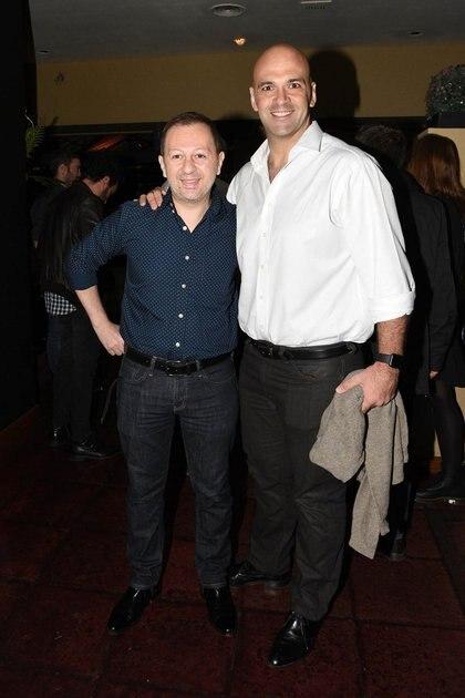 Nico Scarpino y su marido