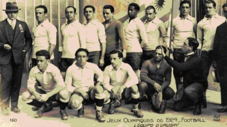 La selección uruguaya campeona de los Juegos Olímpicos de París en 1924