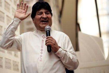 Evo Morales (REUTERS/Ueslei Marcelino)