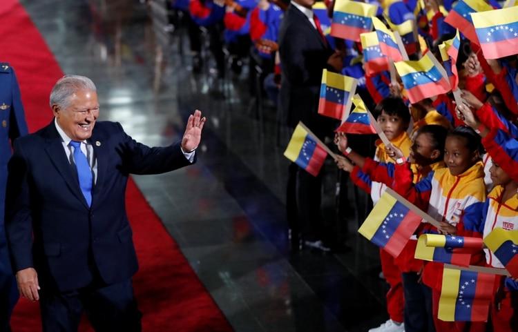 Salvador Sanchez Ceren, presidente de El Salvador entre 2014 y 2019 (REUTERS/Carlos Garcia Rawlins)