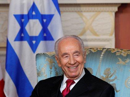 Shimon Peres, mayo de 2013