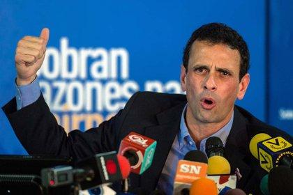 Henrique Capriles, ex candidato a presidente de Venezuela (AFP)