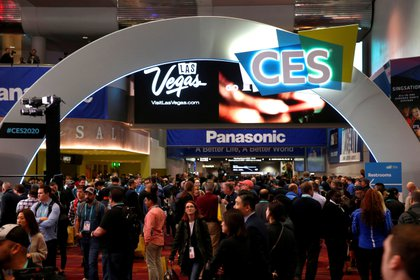 El hall central del Centro de Convención de Las Vegas durante la feria CES 2020, en Nevada, Estados Unidos (REUTERS/Steve Marcus/File Photo)