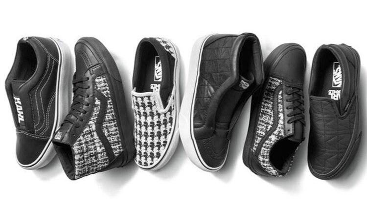 Nueva fusión entre marca-diseñador  zapatillas con el sello ... 7800efca866