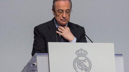 """Las primeras palabras de Florentino Pérez, nuevo presidente de la cuestionada Superliga: """"Vamos a ayudar al fútbol"""""""