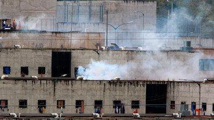 Vista de la cárcel del el Turi hoy, en la ciudad de Cuenca (Ecuador). EFE/Robert Puglla