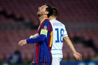 Messi es pretendido por el PSG (EFE)