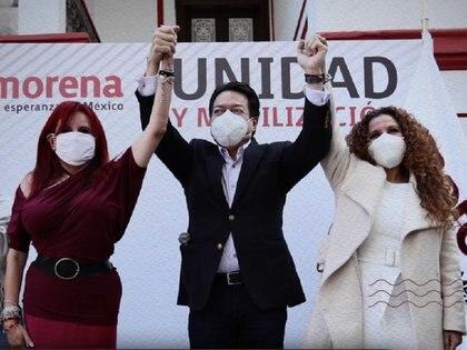 Layda Sansores se perfila como candidata de Morena para la gubernatura de Campeche (Foto: Twitter / @LaydaSansores)