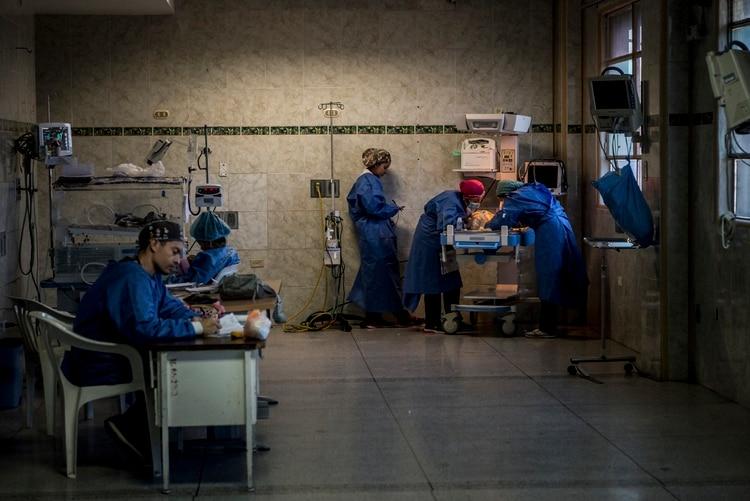 Hospital público en Venezuela
