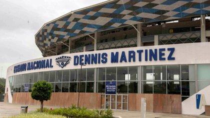 El Estadio Nacional Dennis Martínez fue inaugurado con llenos totales en octubre de 2017. Pocos meses después Daniel Ortega lo usó como cuartel paramilitar paraaprovechar su altura y ubicación (Cortesía de La Prensa)